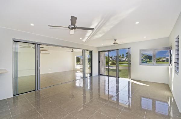 Alfresco area. Shutters. Bifolds. Lockable. Townsville's award winning builder. www.martinlockehomes.com.au