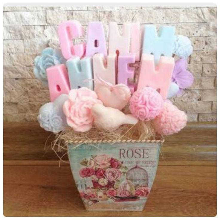 Hediye sabun buketi #sabunbuketi #dekoratifsabun #butiksabun