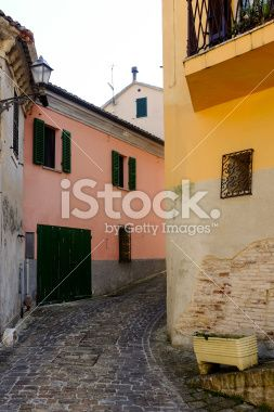 Bending Alley Royalty Free Stock Photo