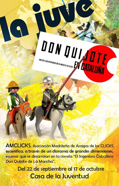 CIDAJ: Diorama de Amicliks en la JUVE