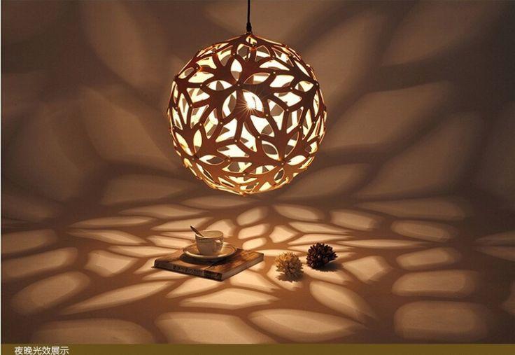 Goedkope Diy nordic bamboe coral creatieve persoonlijkheid dia40/50/60 ...