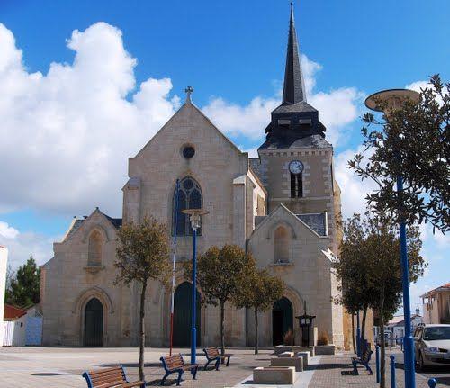 église de saint-Hilaire-de-riez en Vendée