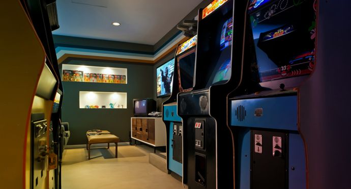 This Stylish Arcade Garage Looks Amazing Very
