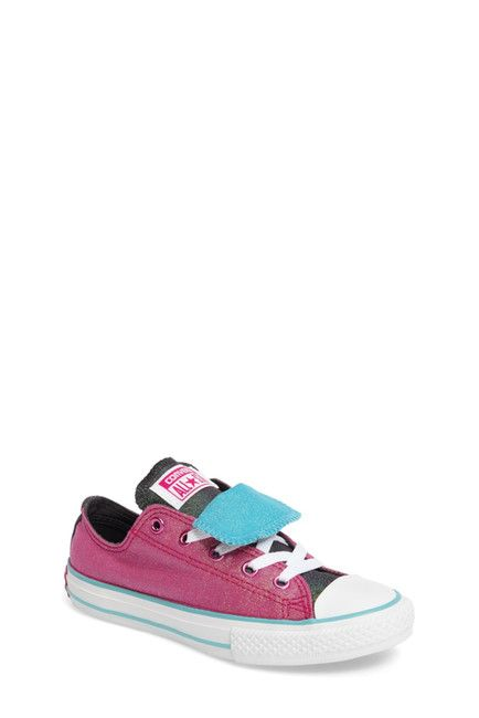 e8e50e5c26b8 Converse Chuck Taylor All Star Low Top Magenta   Turquoise shiny like a  mermaid 656035F