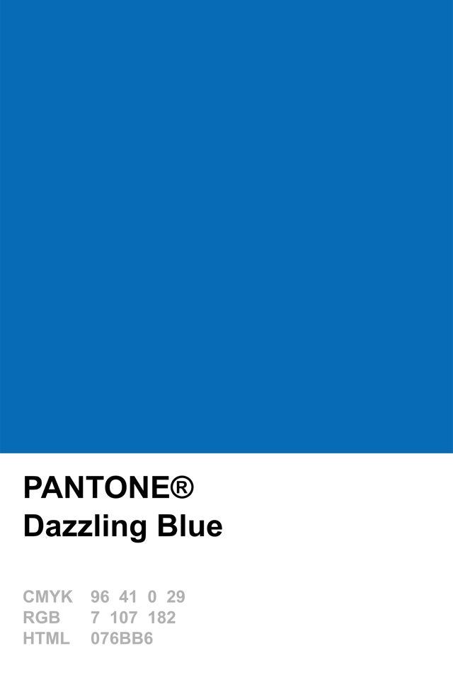 Pantone 2014 Dazzling Blue