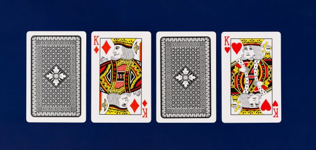 King Playing Cards Full Deck On Plain Background For Casino Poker Top View Playing Cards Plains Background Free Pictures