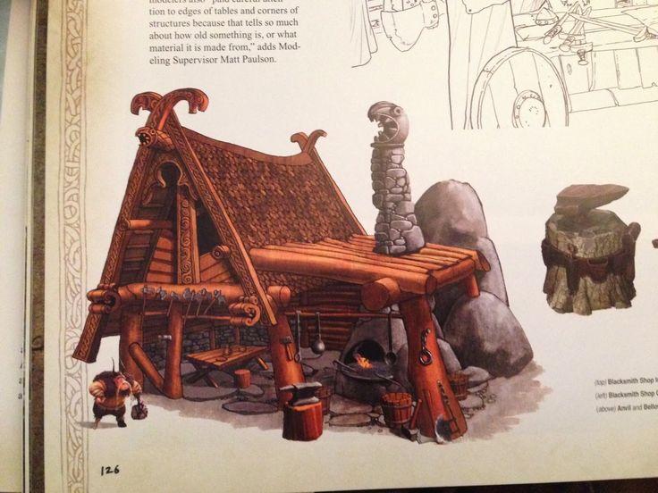how to train your dragon blacksmith shop