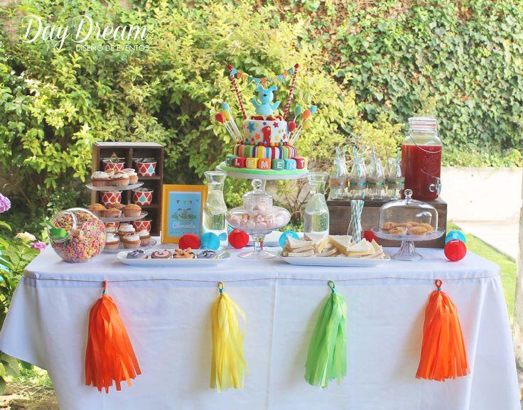 ideas decoración candy Bar
