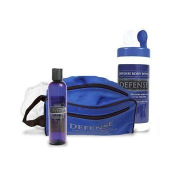Defense Soap Gel Travel Kit by Defense Soap. $29.99. Defense Body Wipes. Travel Bag with 3 pouches and 3 zippers.. Loofah. One 8oz Bottle of Defense Shower Gel. Protect yourself with this natural antibacterial soap for wrestlers and other contact sport participants. The Defense Soap Bars contain the highest concentrations of therapeutic botanicals possible to put in a bar of soap. From the stand point of hygienics, Defense Soap is a therapeutic cleansing soap, ...