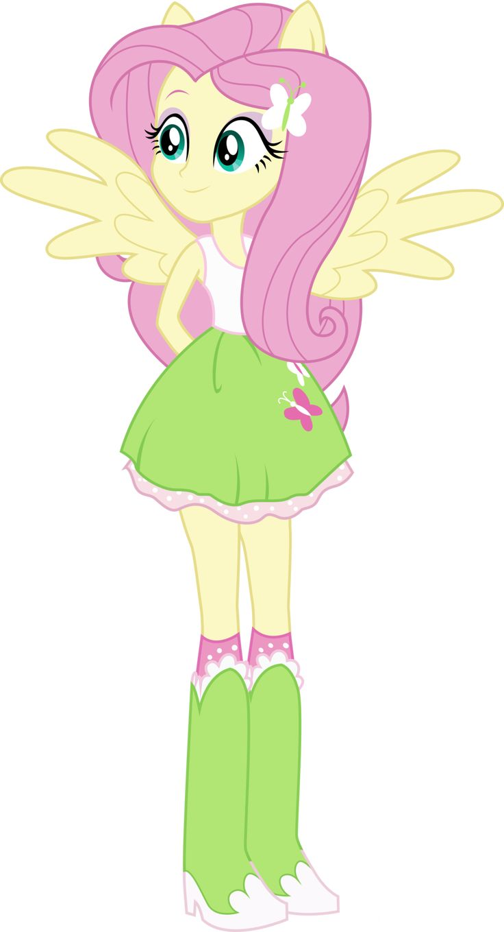 Equestria Girls: Fluttershy by TheShadowStone on ...