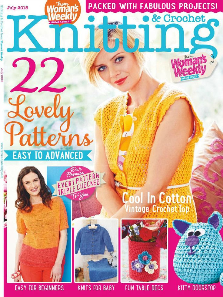 17 Best Mags Womans Weekly Images On Pinterest Books Knitting
