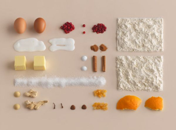 "Photographs by Carl Kleiner for IKEA's baking book ""Hembakat är Bäst"" (Homemade is Best). Food styling by Evelina Bratell."