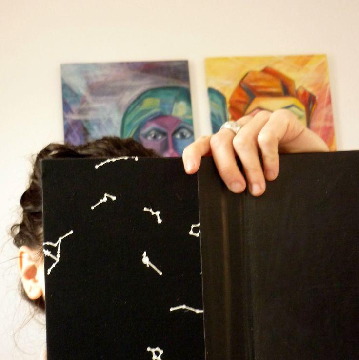 Constelaciones de la mano de MIL989 Serigrafía artesanal