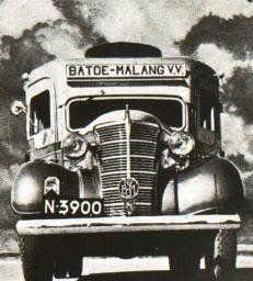 Bus @ 1930, rute Batu - Malang