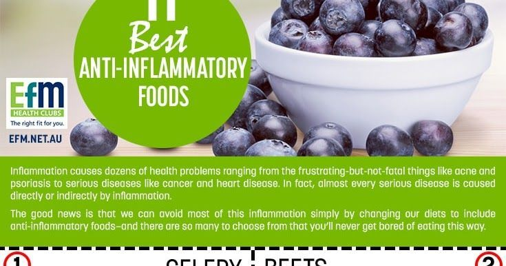11 Best Anti-Inflammatory Foods [Infographic]-Diet, Weight Loss, Food, Nutrition, Natural Health and Healing, Fitness and Exercise Tips, News, Articles, Information and Infographic Aggregator
