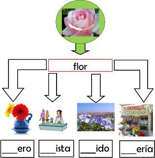 Pasitos al aprendizaje: Familia de  palabras.