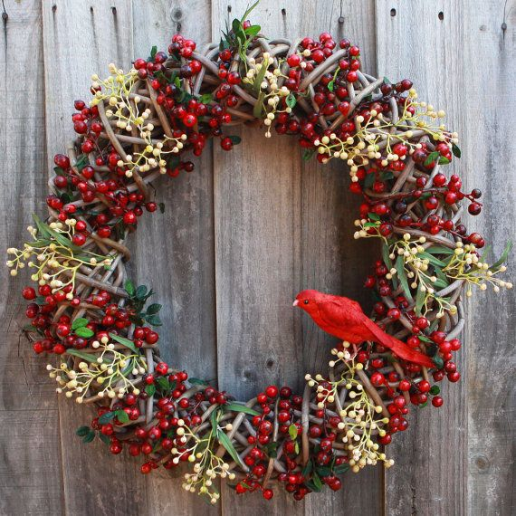 Christmas Wreath Floral Wreath Wreath by TheWreathCompanyAU