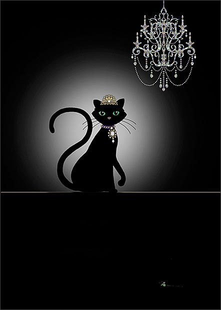 BugArt Jewels ~ Cat & Chandelier. JEWELS Designed by Jane Crowther.
