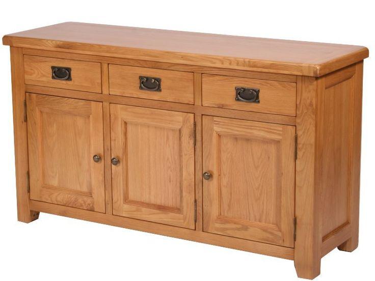 Malvern Oak Large Sideboard, 3 Doors - Best 20+ Large Sideboard Ideas On Pinterest Large Console Table
