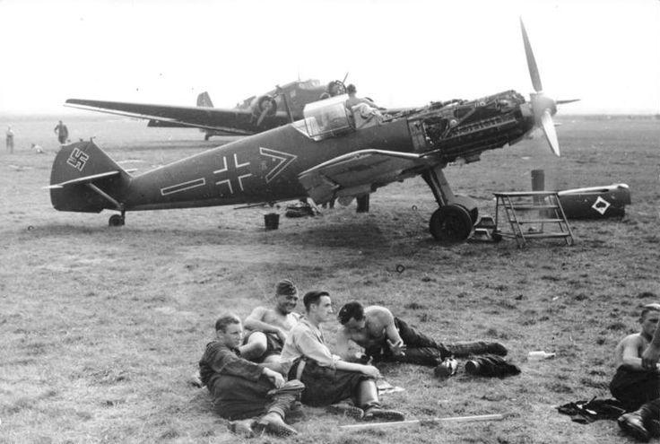 JG 53 Bf 109 E-3, c. 1939/1940