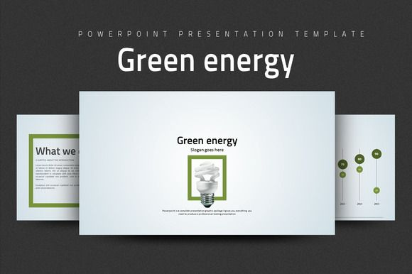 Green Energy by Good Pello on @creativemarket
