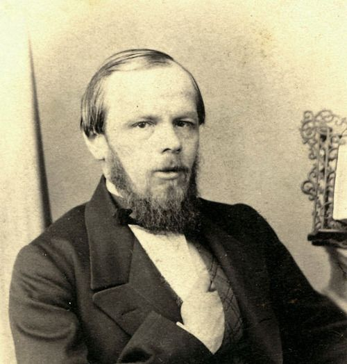 Fyodor Dostoevsky. Check out Brigette's review of Sarah Churchwell's Careless People: Murder, Mayhem, and the Invention of the Great Gatsby here: http://chaptersandscenes.wordpress.com/2014/01/31/brigette-reviews-careless-people-murder-mayhem-and-the-invention-of-the-great-gatsby/