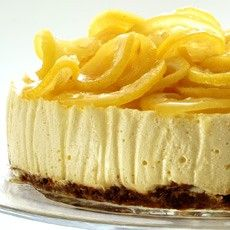 Lemon Ricotta Cheesecake with a Confit of Lemons Recipe on Yummly