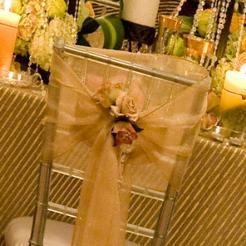 Sheer Gold Wedding