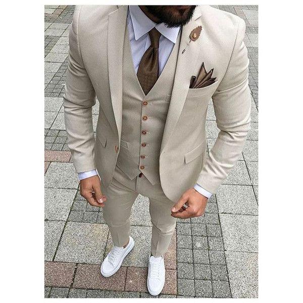Costume Homme Gilet Formel Business Fête de mariage de smoking slim en Stock 3 Couleurs
