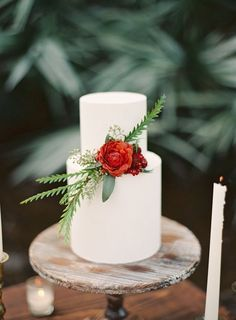 19 Divine Floral Wedding Cakes from Earth and Sugar - Melanie Gabrielle