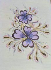 Zentangle Art - Flowerzen by Bevie Sams  http://fineartamerica.com/art/all/zentangle/all?page=17