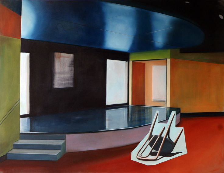 140x180cm Oil on canvas