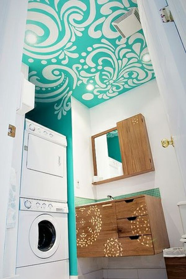 84 besten waschmaschine bilder auf pinterest badezimmer abstellraum und ferienhaus. Black Bedroom Furniture Sets. Home Design Ideas