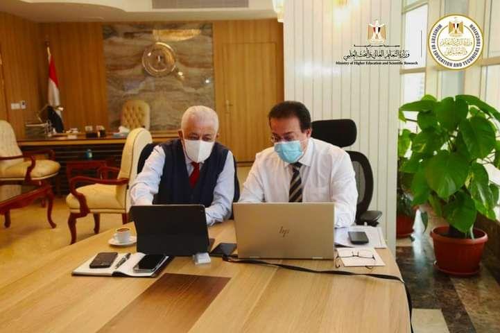 عقد الدكتور طارق شوقي ووزير التعليم العالي اجتماعآ لمناقشة بعض النقاط الهامة In 2021 Decor Home Decor