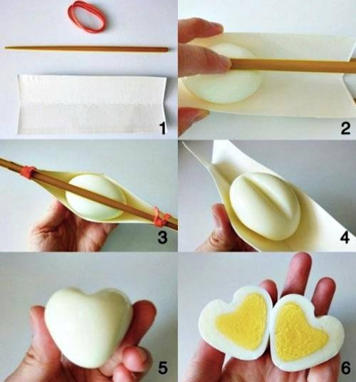 Heart Shaped Egg!