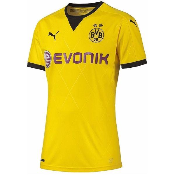 Borussia Dortmund 15/16 Ambassador Home Soccer Jersey