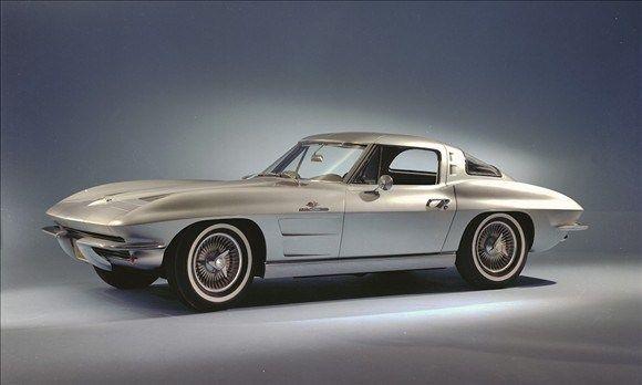Corvette Sting Ray Coupe con luneta trasera dividida, 1963