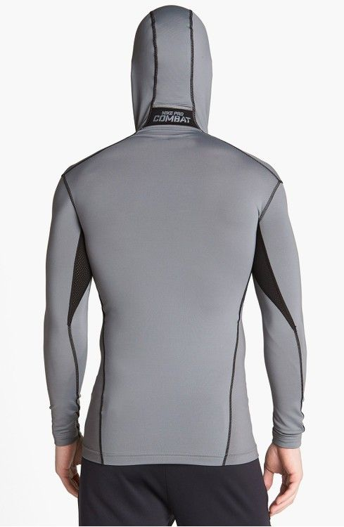 Main Image - Nike 'Pro Combat - Hyperwarm Dri-FIT Max' Hooded Compression Top