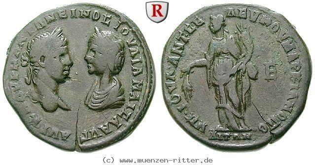 RITTER Moesia Inferior, Markianopolis, Elagabal, Julia Maesa, Abundantia #coins