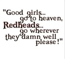 Redhead quote