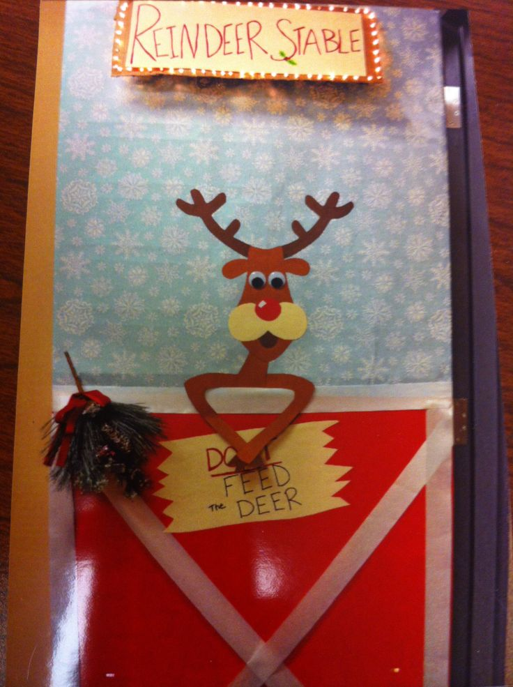 Christmas Door Contest Things I Ve Made Pinterest