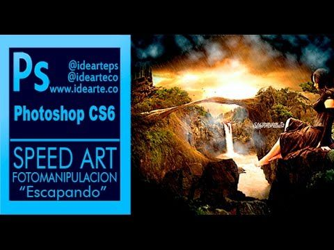 Speed Art Photoshop: Fotomanipulación Escapando by @idearteco – @stiben_md