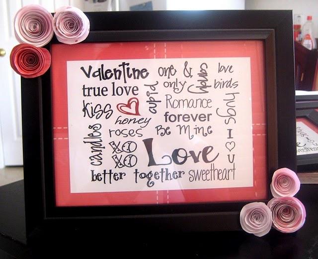 Valentine craft DIY