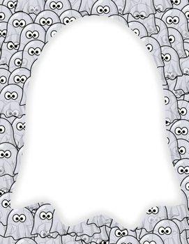 teken jouw spook