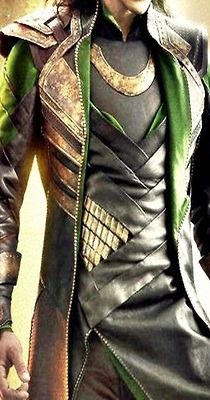 Close-up of Loki costume for possible cosplay