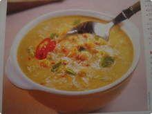 Sopa de grao de bico, uma deliciiia :)
