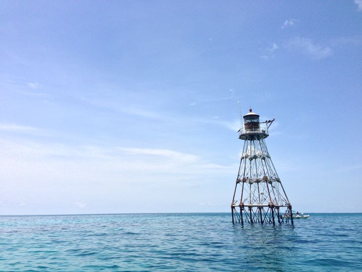 Tennessee Reef lighthouse.