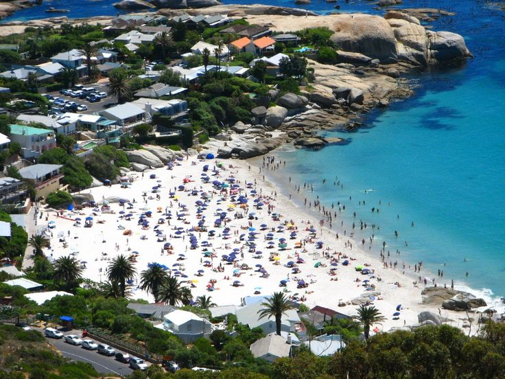 Fourth Beach, Clifton, Cape Town - the most expensive suburb in South Africa.