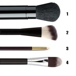 Кисти для макияжа (Базовый набор)   Lunifera