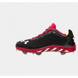 SALE - Under Armour UA Spine Baseball Cleats Mens Black - BUY Now ONLY $99.99